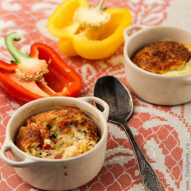 food geek: Запеченный омлет с овощами