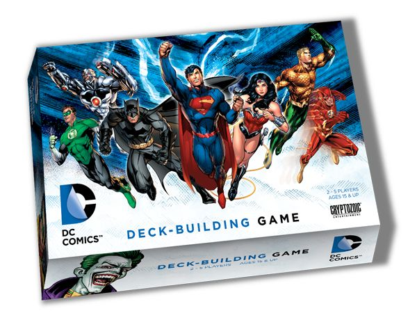 Have you tried Deck Building games yet?  Here is a great place to start!  DC Comics Deck-Building Game | Cryptozoic Entertainment
