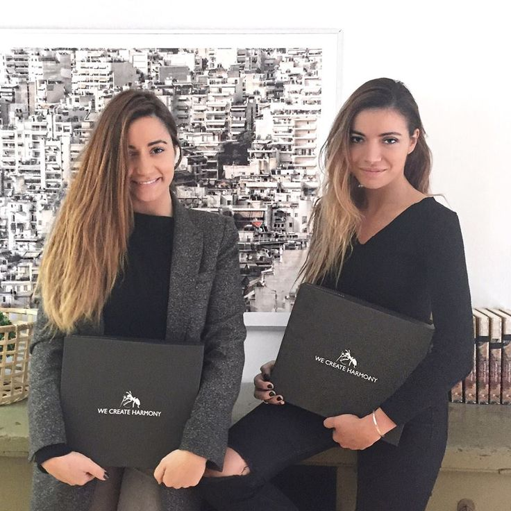 Sister, sister!  These two beauties, Olga Farmaki & @Gogo Farmaki of the #Kisterss fashion blog, in our offices this morning! Visit their Facebook page to take part in our joint contest to win some cool prizes!  #wecreateharmony Learn more here: http://on.fb.me/1SNKxgl