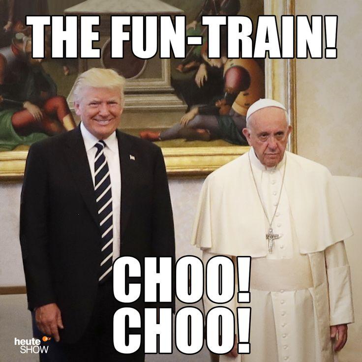 The Fun-Train! Choo! Choo! Copyright: heute show