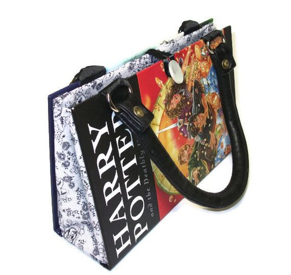 Deathly Hallows Book Handbag