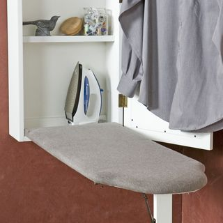 Upton Home Wall-mounted Ironing Board and Storage Center | Overstock.com Shopping - The Best Prices on Upton Home Ironing Boards