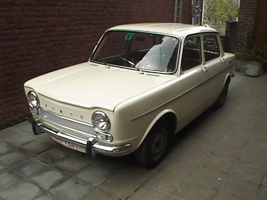 Simca, somehow our Dad bought one of these in the early 60's as our family car