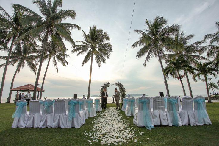 Garden Wedding At Shangri Las Tanjung Aru Resort And Spa Kota Kinabalu Sabah RomanticWedding