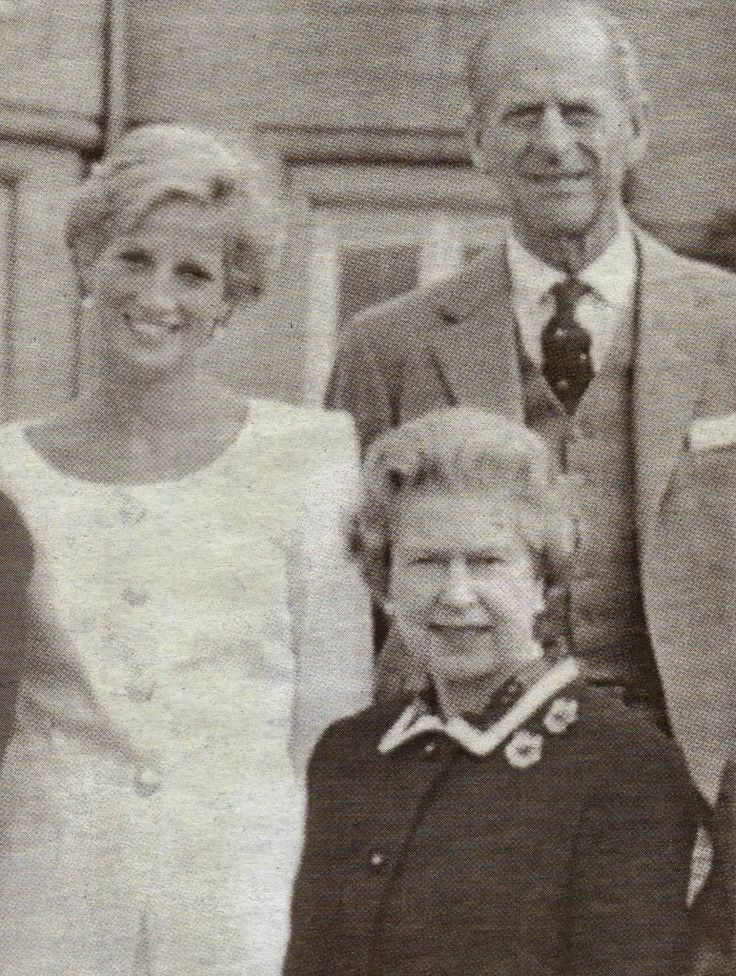 Diana & The Queen & Prince Philip