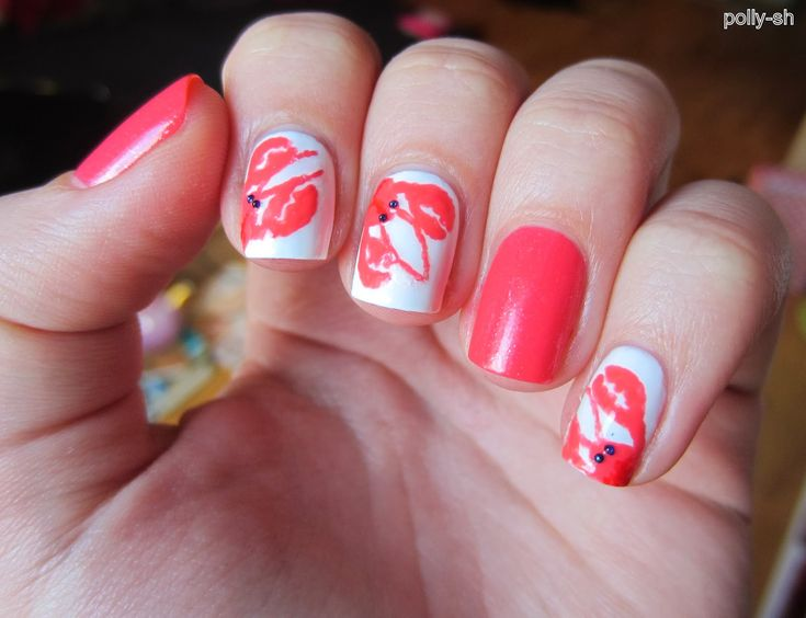Luxury Nail Art Design: Essie-Contest Taste Of Luxury: Lobster Nails (Polly-sh