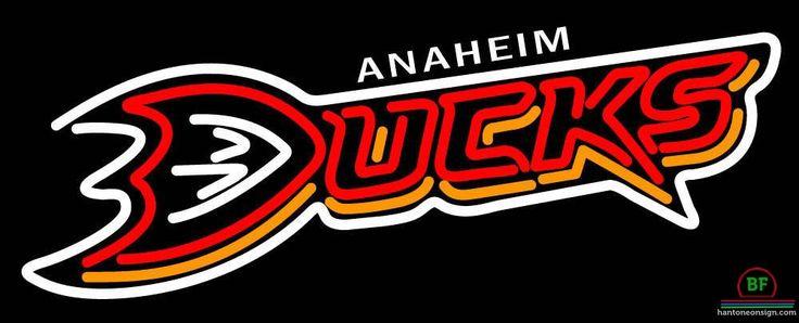 Anaheim Ducks Neon Sign NHL Teams Neon Light