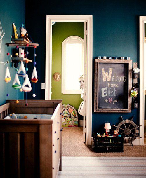 50 Beautiful Blue Nurseries: Nautical theme