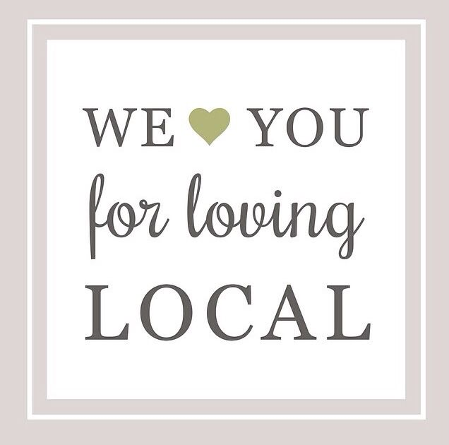 We Love You For Loving LOCAL! Thank you for supporting our small business!  Go to www.madhattermassage.com to see what's new!