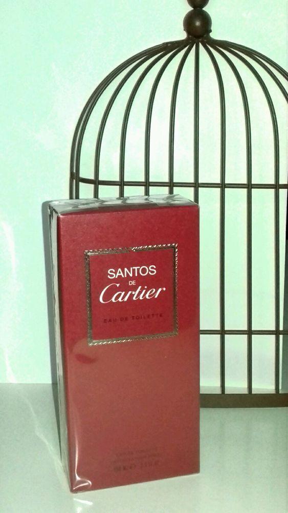 Parfum Homme Santos De Cartier E D Toilette  100 ML
