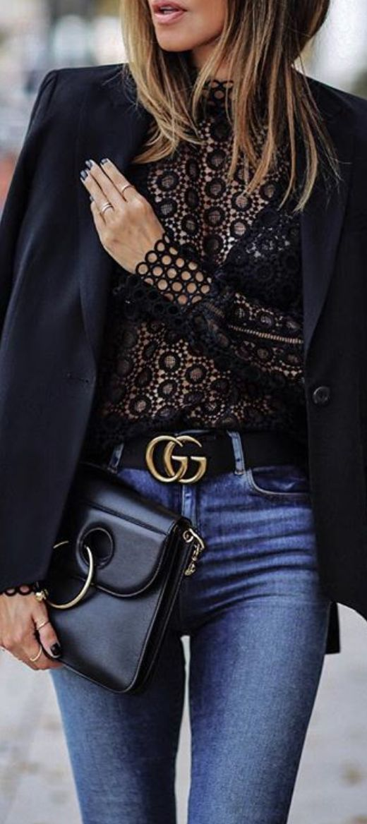 black lace blouse under $50
