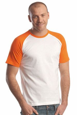 Bestel Oranje baseball t-shirt korte mouw bij Oranjeshopper, snelle levering van Oranje dames t-shirts. Nu Oranje baseball t-shirt korte mouw bestellen voor