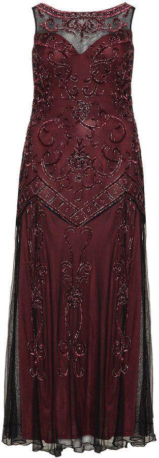 Pin for Later: Die schönsten Flapper-Kleider für jede Figur Ariella Abendkleid mit Pailletten im Stil der 20er Jahre (445 €) Mehr