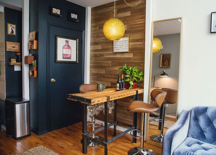 Industrial Modern Style in a 420 Square Foot Hell's Kitchen Studio