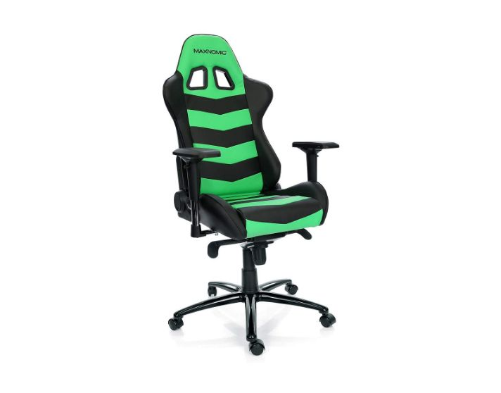 Maxnomic Thunderbolt Green Premium Gaming Office And Esports