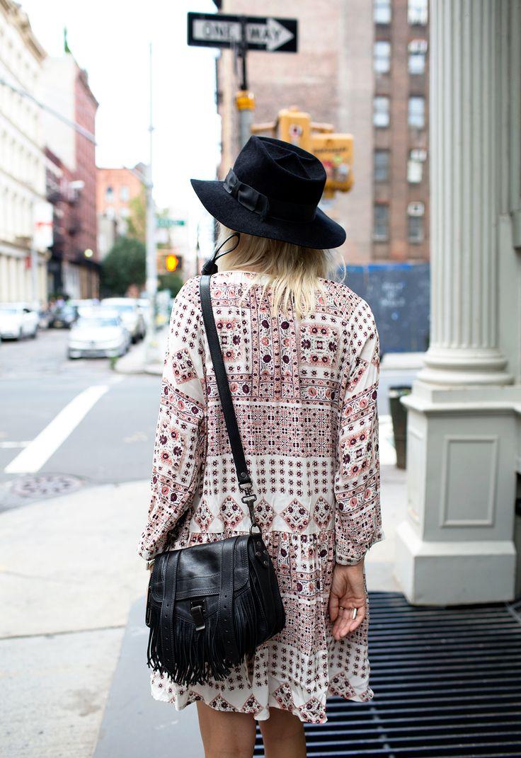 prada wallet on chain - Proenza Schouler PS1 Mini Fringe Shoulder Bag Blogger Courtney ...