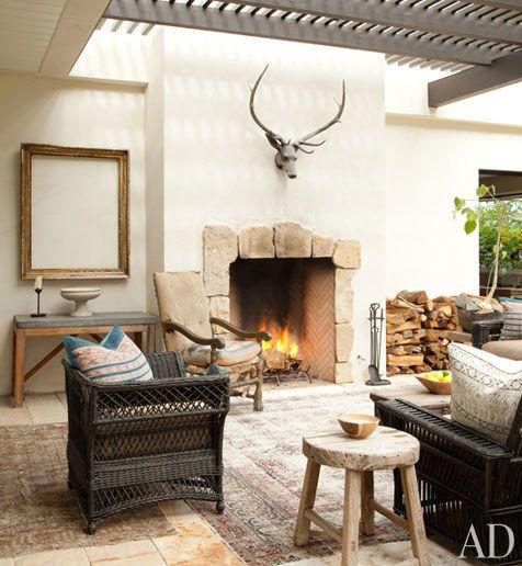 More on Ellen DeGeneres and Portia de Rossi's Home   Architectural Digest