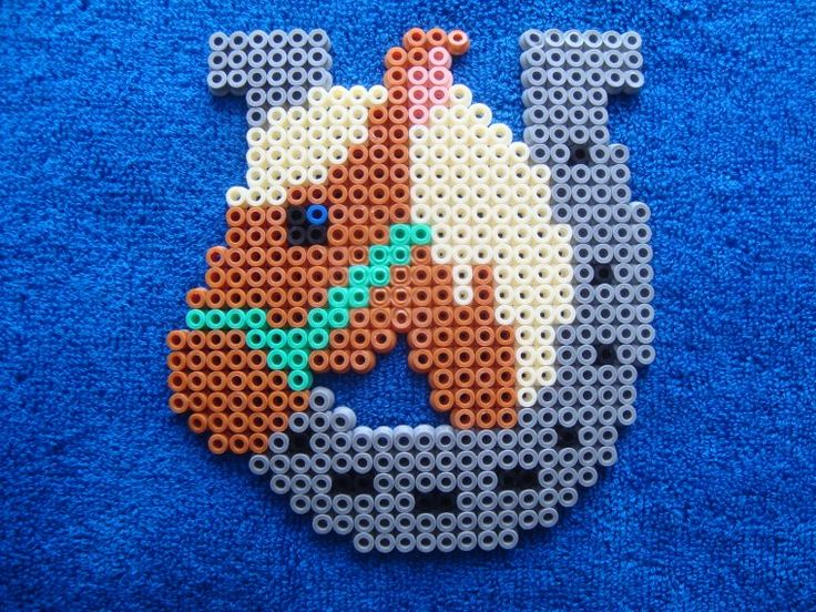 Horse hama beads by rainbow186