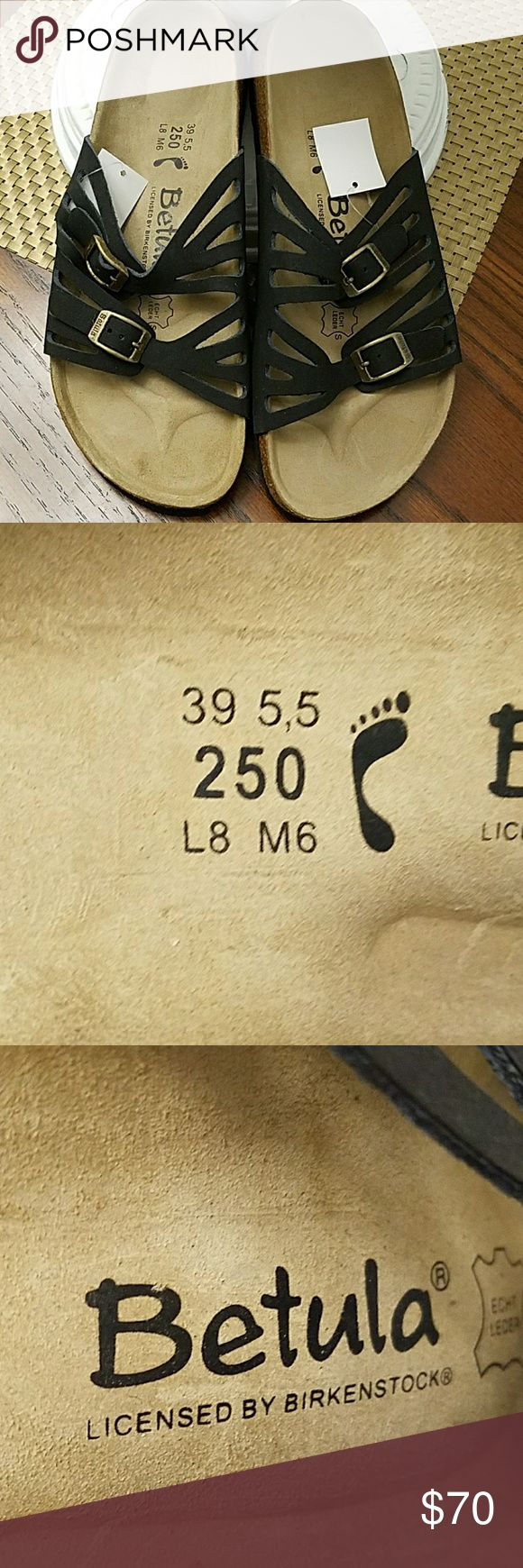 Betula Birkenstock Sandals NEW Brand new no damage.  Ladies 8, men's 6. No box. Birkenstock Shoes Sandals
