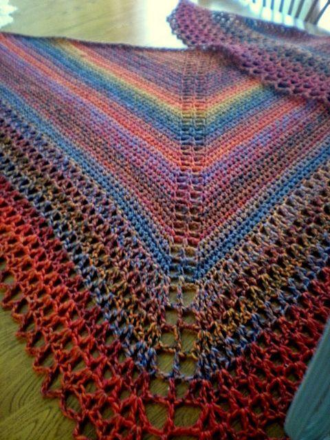 141 besten Crochet - Shawls Bilder auf Pinterest | Tuch häkeln ...