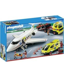 mega set rescate #playmobil en oferta hasta final del mes en playmyplanet! #avion