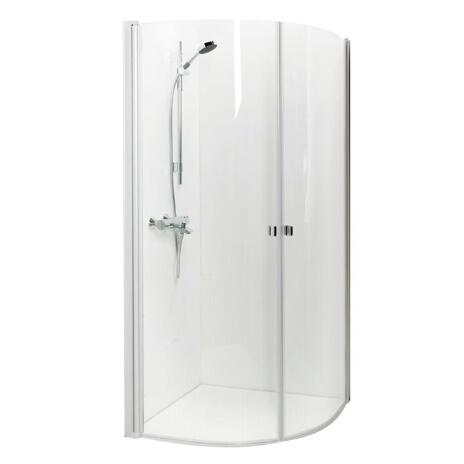 Porsgrund Bad Showerama 8-4 dushjørne fra Varme & Bad
