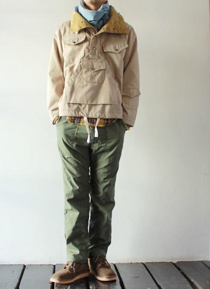 [Engineered Garments] Fatigue Pant - Reversed High Count Sateen - takanna.com #pants #Engineered Garments