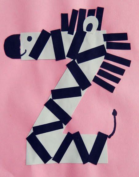 Criatividade para transformar as letras do alfabeto em diversão. #abc