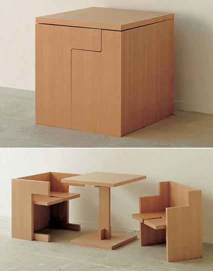 Mo´vel multifuncional - mesa e bancos
