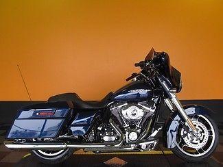 Harley-Davidson : Touring 2012 Blue Blue Pearl Street GLide FLHX by Harley-Davidson!