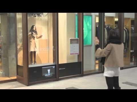 "Have you ever heard of ""MarionetteBots"" ? Airport clothing-store outlet United Arrows comes up with a new and creative way of attracting customers in its Tokyo location. Check it out! #creativity #marketing #retail #fashion"