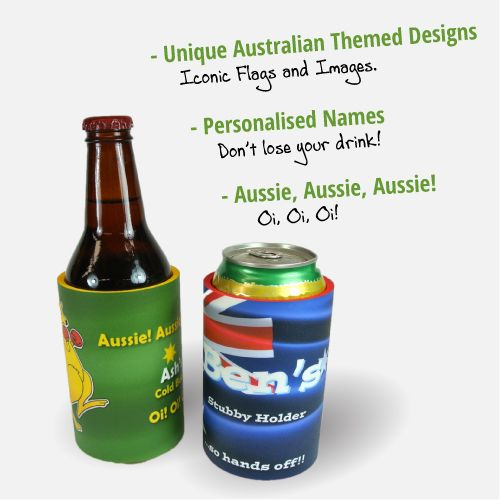 Australia Day Stubby holders! By Coolaz!