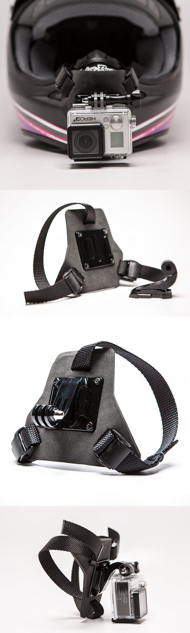 Snorkels and Sets 71162: Full Face Helmet Chin Mount Device For Gopro Perfect Pov Filming Angle Sport -> BUY IT NOW ONLY: $51.95 on eBay!