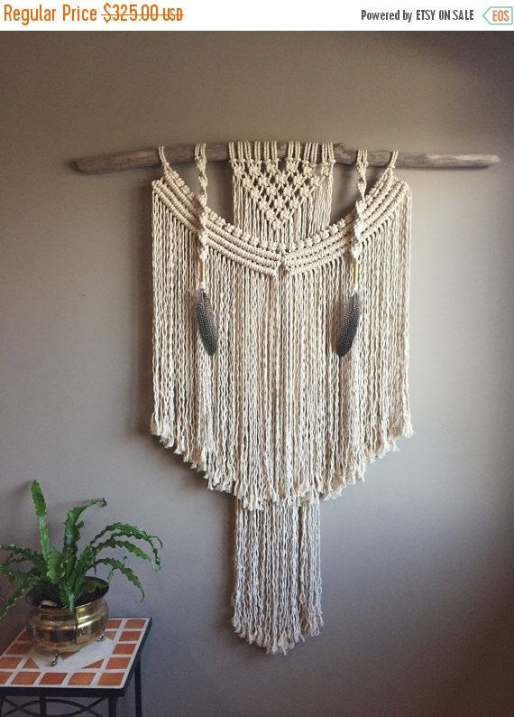 3123 best macrame wall hangings images on pinterest. Black Bedroom Furniture Sets. Home Design Ideas
