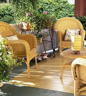 Pretty Wicker Furniture