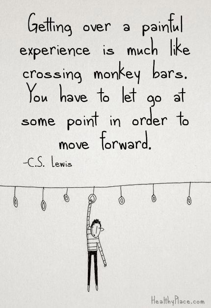 Getting through painful experiences...