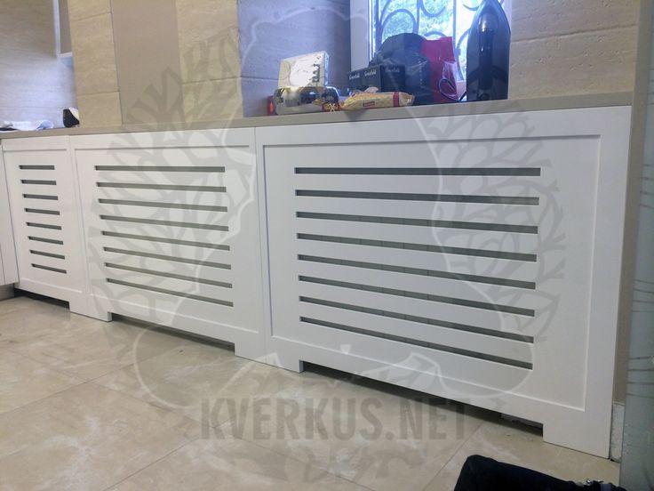 Кверкус - изготовим экраны для радиаторов и решетки на батареи отопления. Эксклюзивные экраны для радиаторов по Вашему проекту на заказ