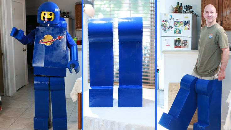 Lego Man Costume Benny - How to Make -Legs  I this episode, I will show you how to make the Legs for your Awesome Lego Man Costume. Mine are for Benny from the Lego Movie.