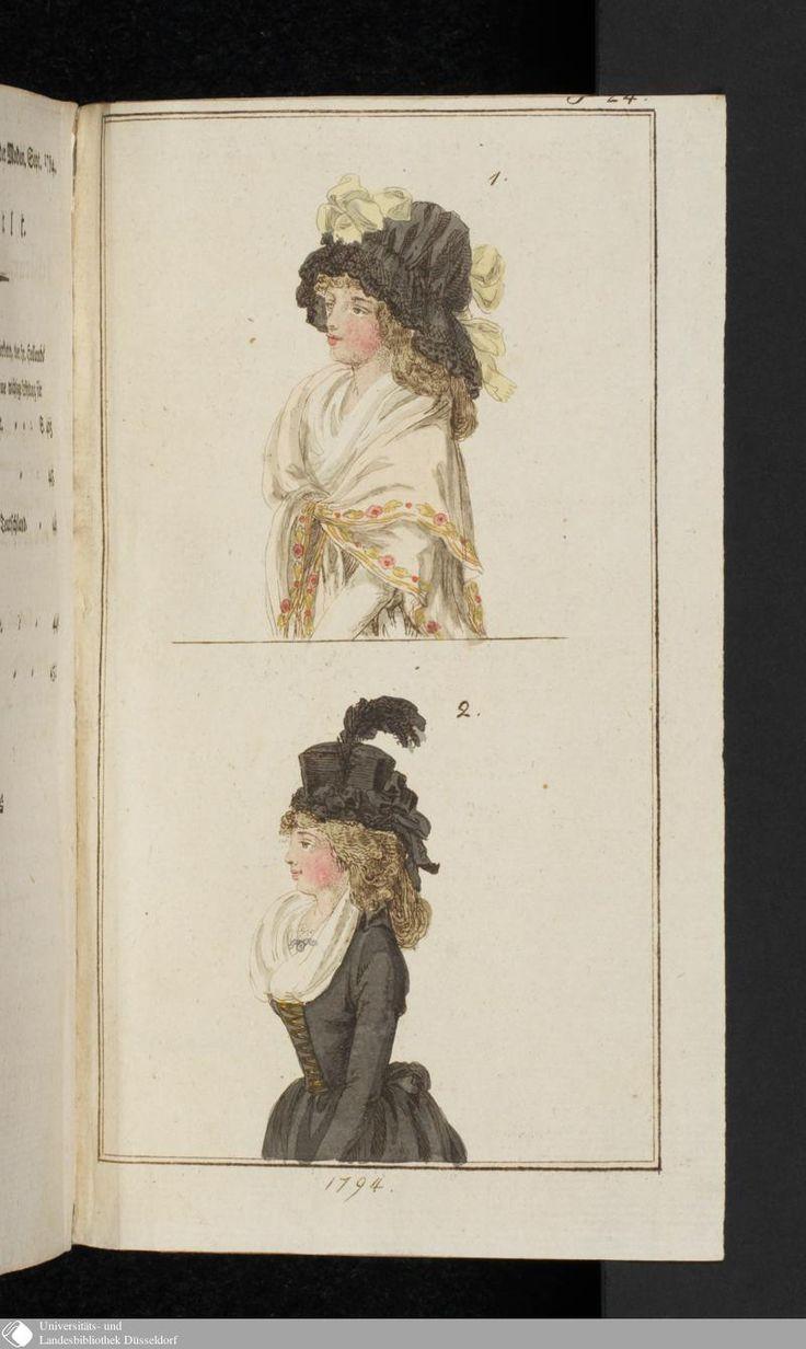 Journal des Luxus und der Moden: September, 1794.