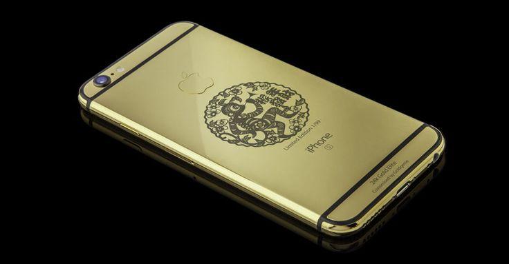 Компания Goldgenie выпустила очередной «шедевр» - золотой iPhone 6S в честь Китайского Нового года и его символа - огненной обезьяной.  |  #iphone  #золото  #годобезьяны  #смартфоны
