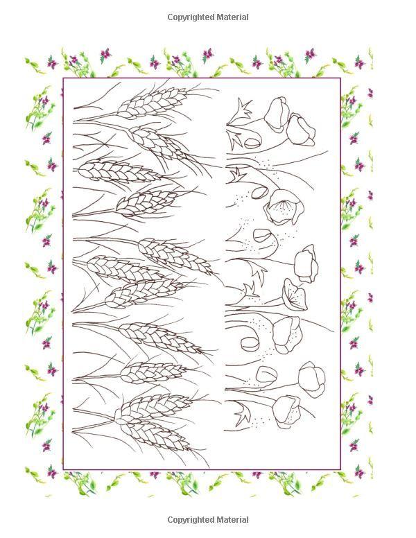 Hand embroidery border stitches makaroka