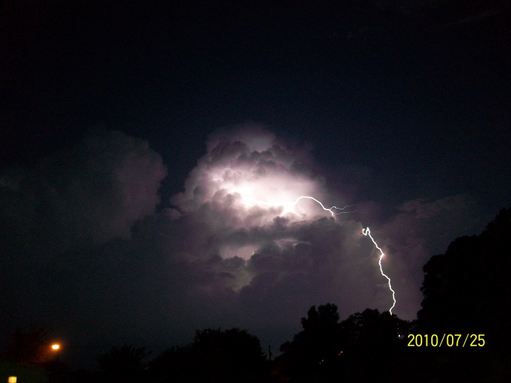 It took forever to get this pic!Lightning Storms