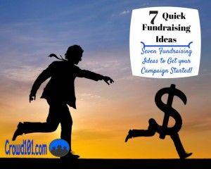 quick fundraising ideas raise money