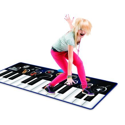You don't have to be a musician to enjoy this instrument. This KIDS STATION Musical Step-On Keyboard is perfect for hours of musical fun. #searscanada #toys #toptoys #wishlist