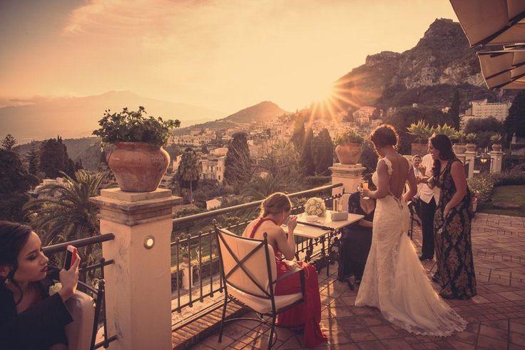 Sunset in Taormina!               www.marcoficili.it