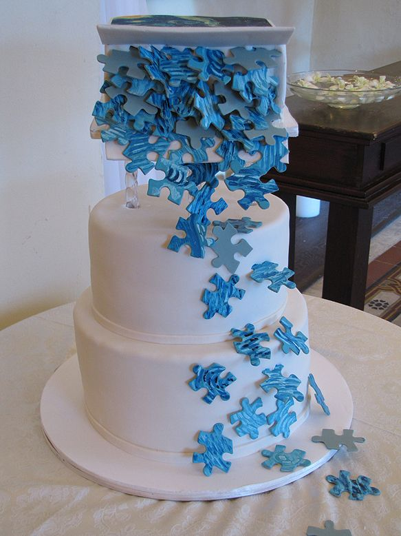 1000 Images About Puzzle Cake On Pinterest Wedding