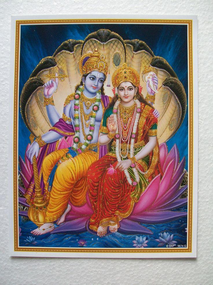lord vishnu with laxmi - photo #14
