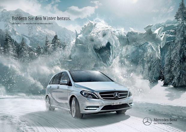 Mercedes-Benz: Fordern Sie den Winter heraus