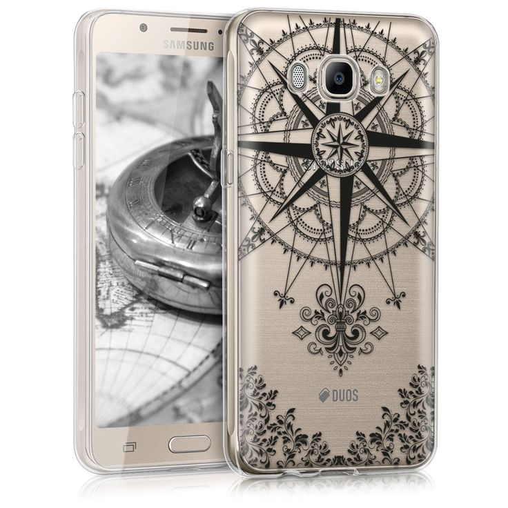 Samsung Galaxy J5(2016) Translucent Silicone Compass case by KW.  #Unique_quality_silicone_Compass #follow_your_road_to_success Buy yours @agorashor.gr