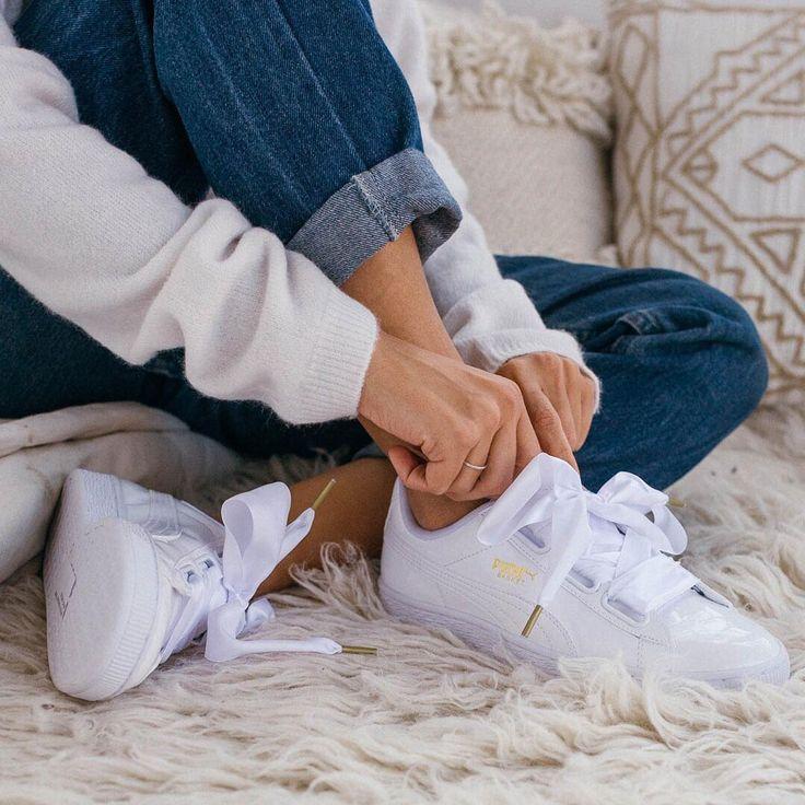 Puma Basket Heart On Feet